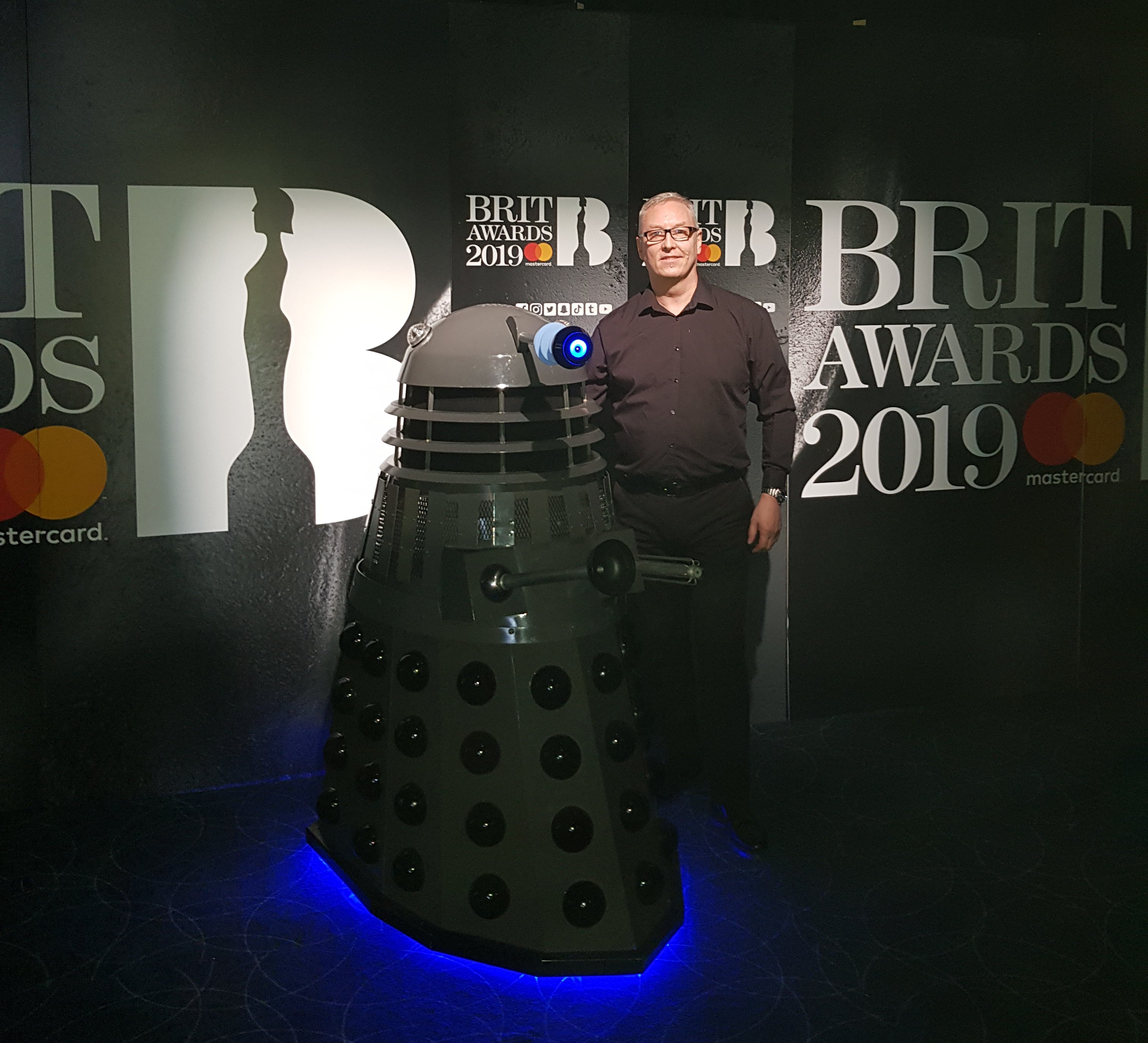 Me and my boy at THE BRITS